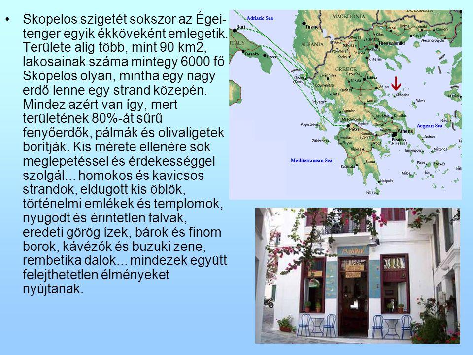 Skopelos szigetét sokszor az Égei-tenger egyik ékköveként emlegetik