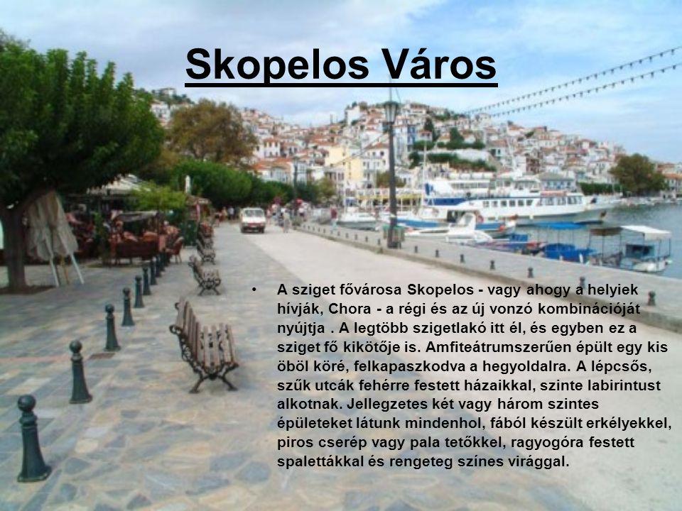 Skopelos Város