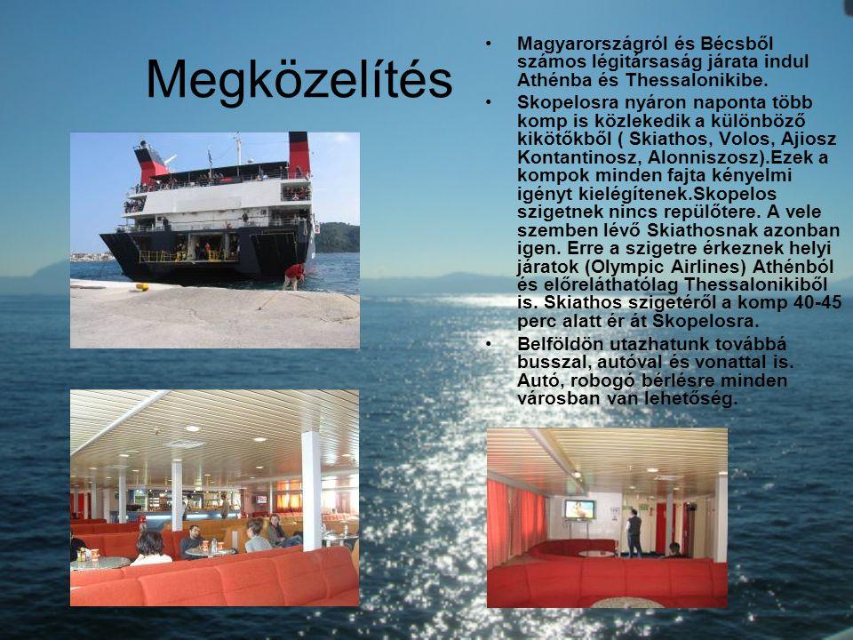 Megközelítés Magyarországról és Bécsből számos légitársaság járata indul Athénba és Thessalonikibe.