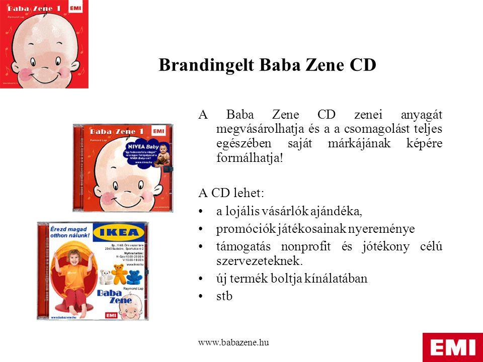Brandingelt Baba Zene CD