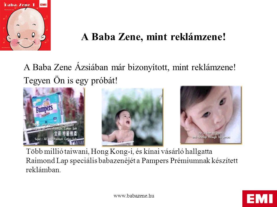 A Baba Zene, mint reklámzene!