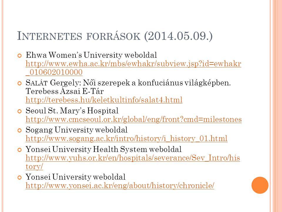 Internetes források (2014.05.09.)