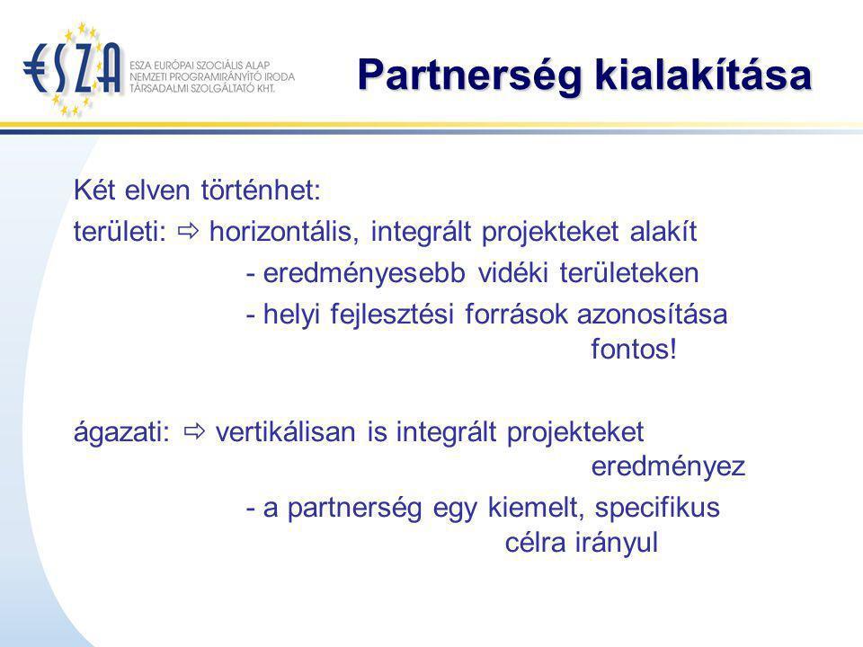 Partnerség kialakítása