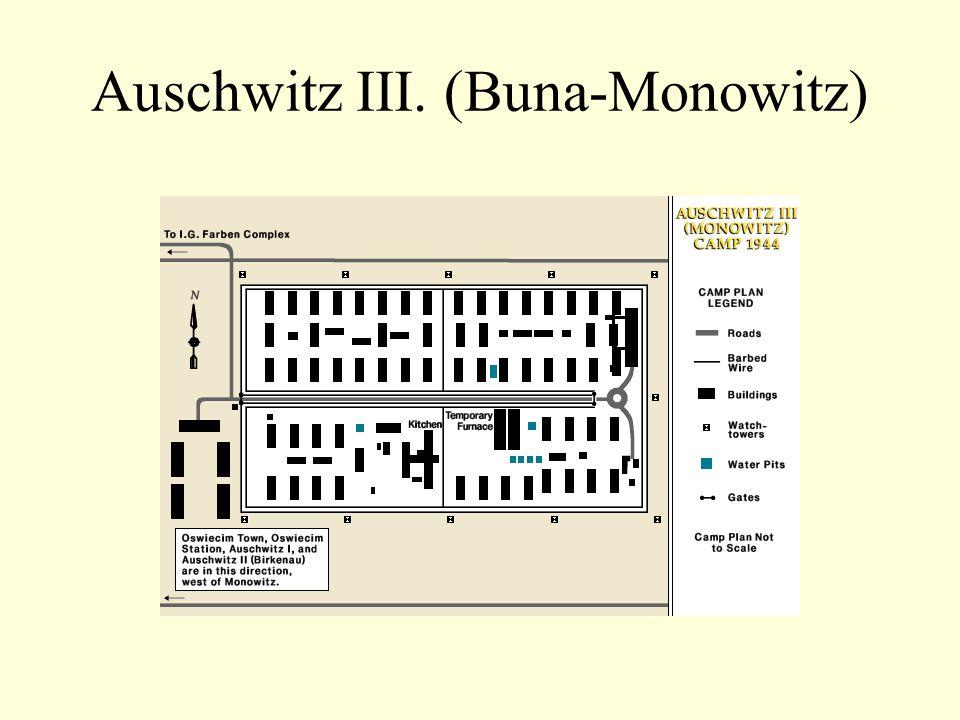 Auschwitz III. (Buna-Monowitz)