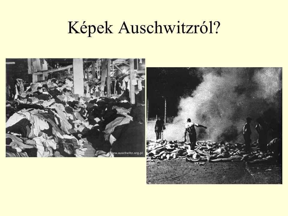 Képek Auschwitzról