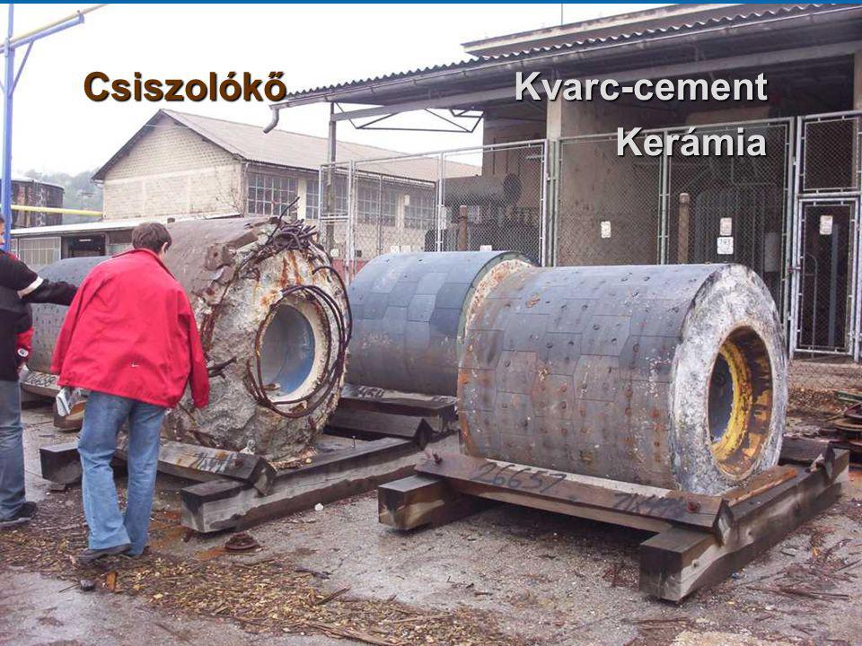 Csiszolókő Kvarc-cement Kerámia