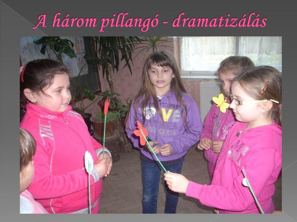 A három pillangó - dramatizálás