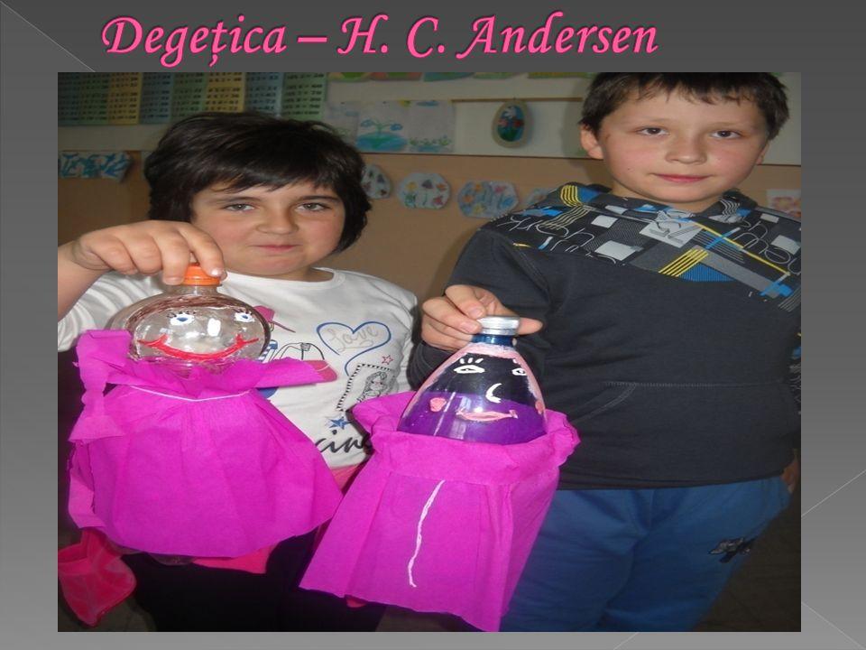 Degeţica – H. C. Andersen