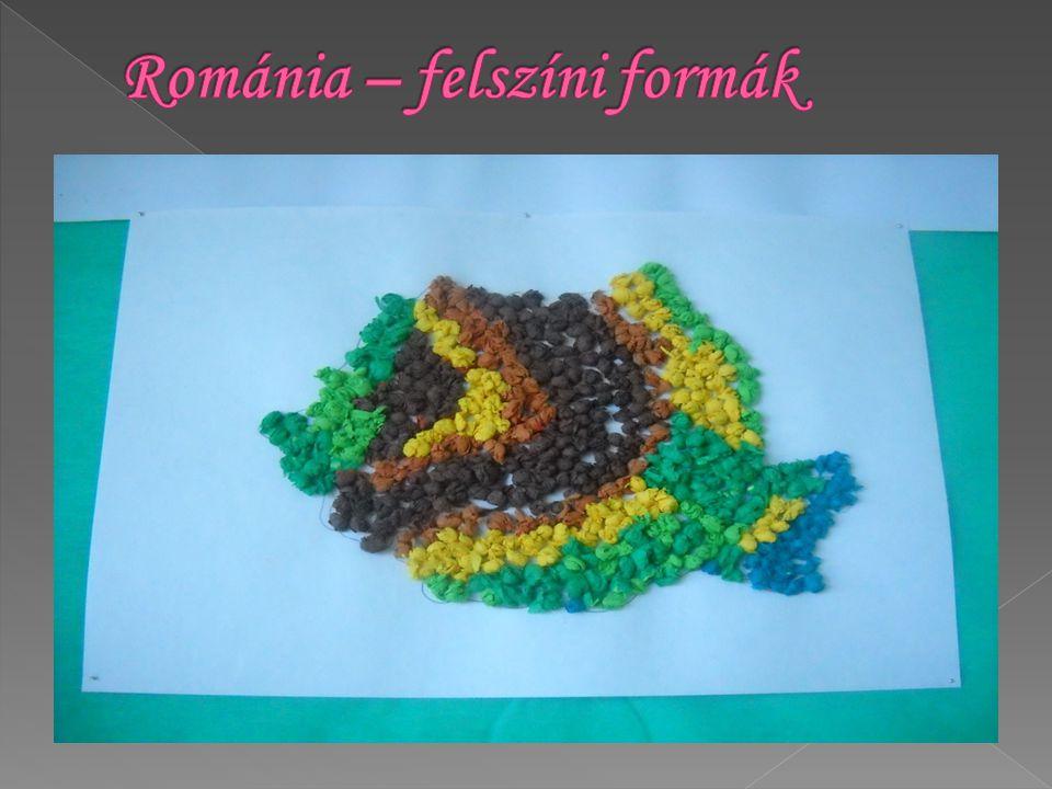 Románia – felszíni formák