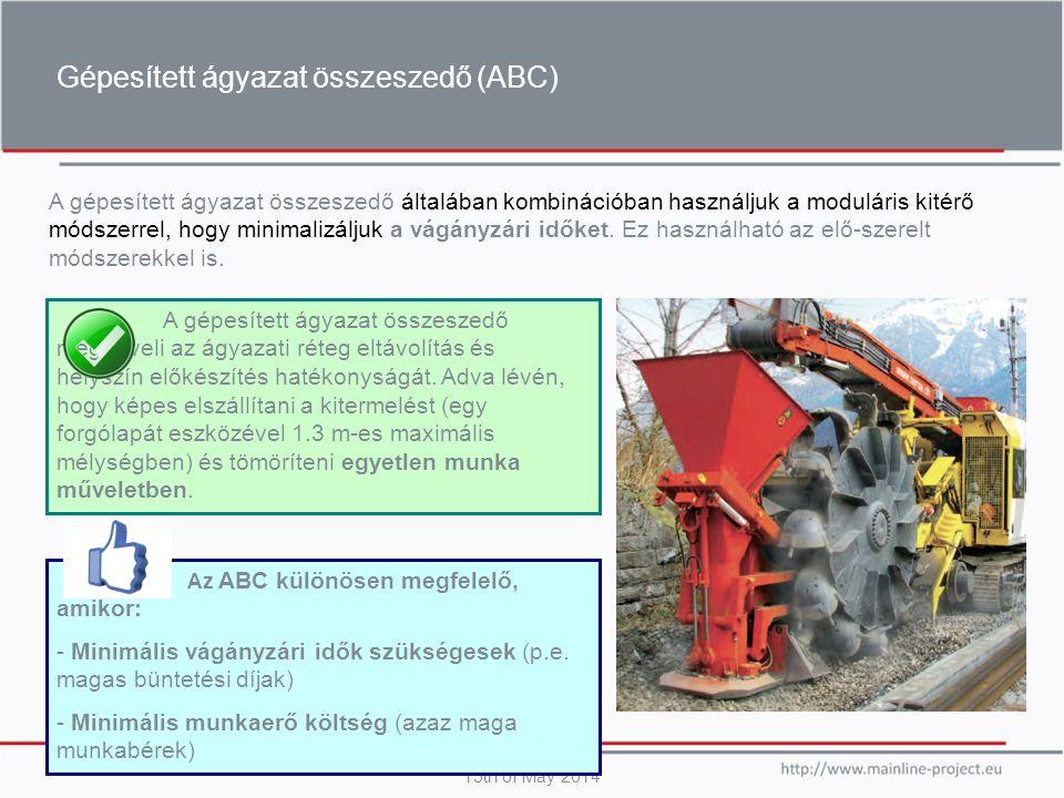 Gépesített ágyazat összeszedő (ABC)