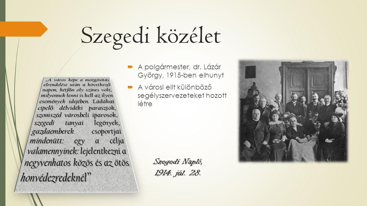 Szegedi közélet Szegedi Napló, 1914. júl. 28.