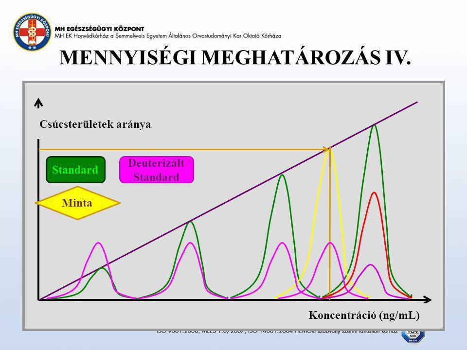 MENNYISÉGI MEGHATÁROZÁS IV.