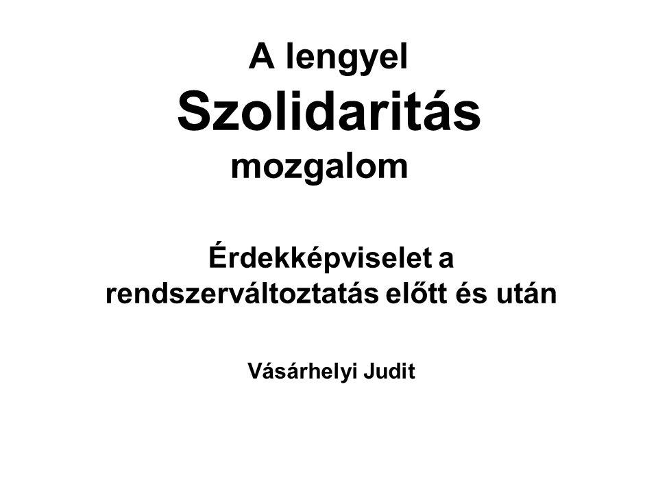 A lengyel Szolidaritás mozgalom