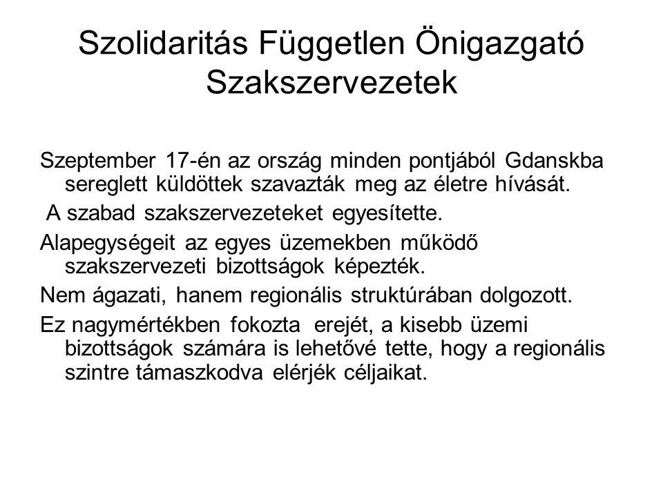 Szolidaritás Független Önigazgató Szakszervezetek
