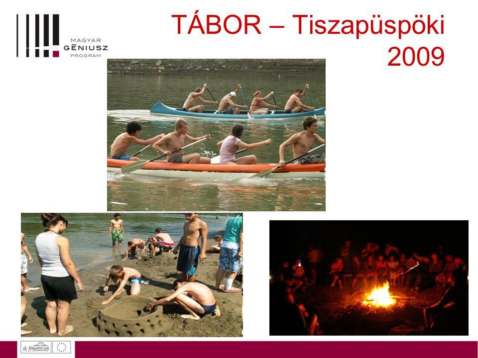 TÁBOR – Tiszapüspöki 2009