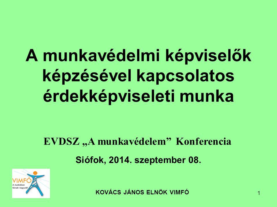 KOVÁCS JÁNOS ELNÖK VIMFÓ