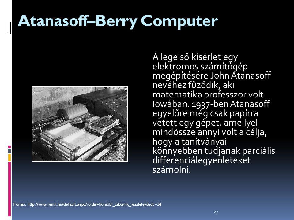 Atanasoff–Berry Computer