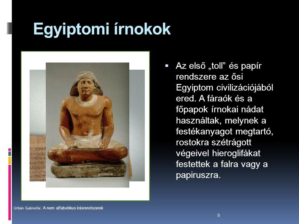 Egyiptomi írnokok