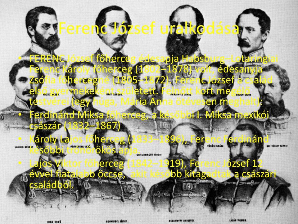 Ferenc József uralkodása