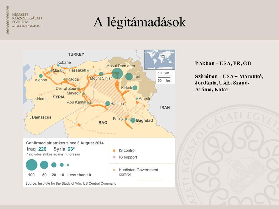 A légitámadások Irakban – USA, FR, GB