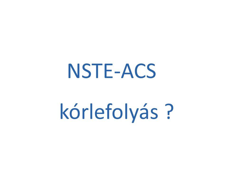 NSTE-ACS kórlefolyás
