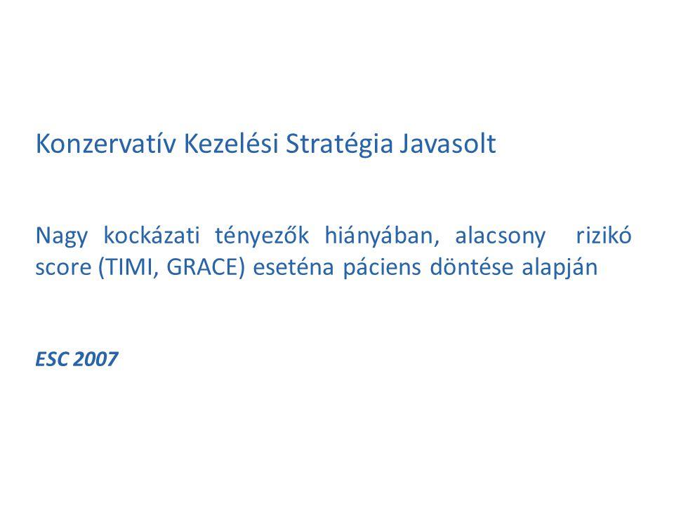 Konzervatív Kezelési Stratégia Javasolt