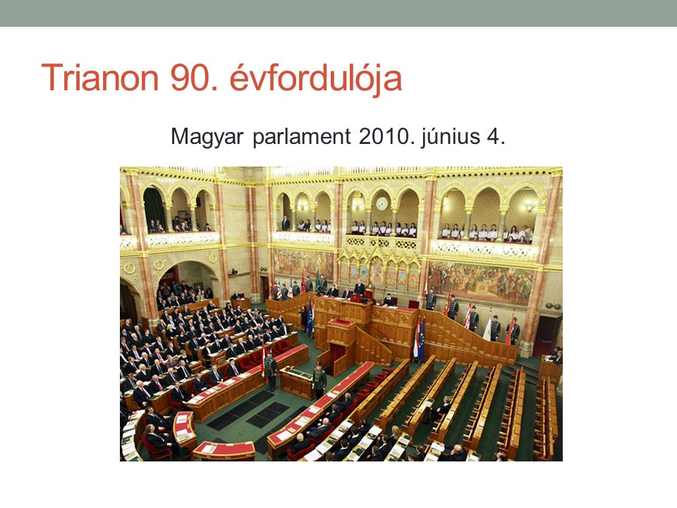 Magyar parlament 2010. június 4.
