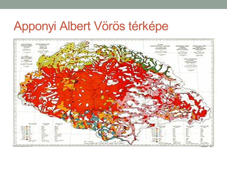 Apponyi Albert Vörös térképe