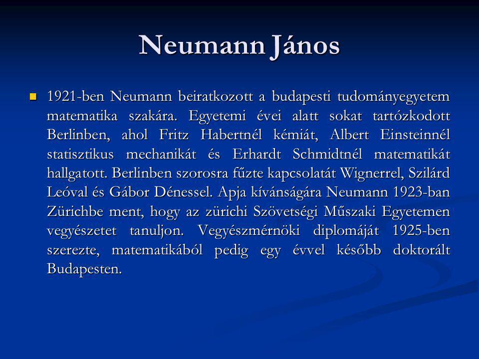 Neumann János