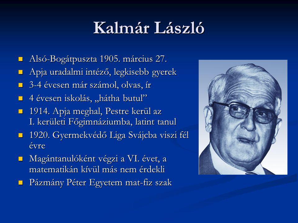 Kalmár László Alsó-Bogátpuszta 1905. március 27.