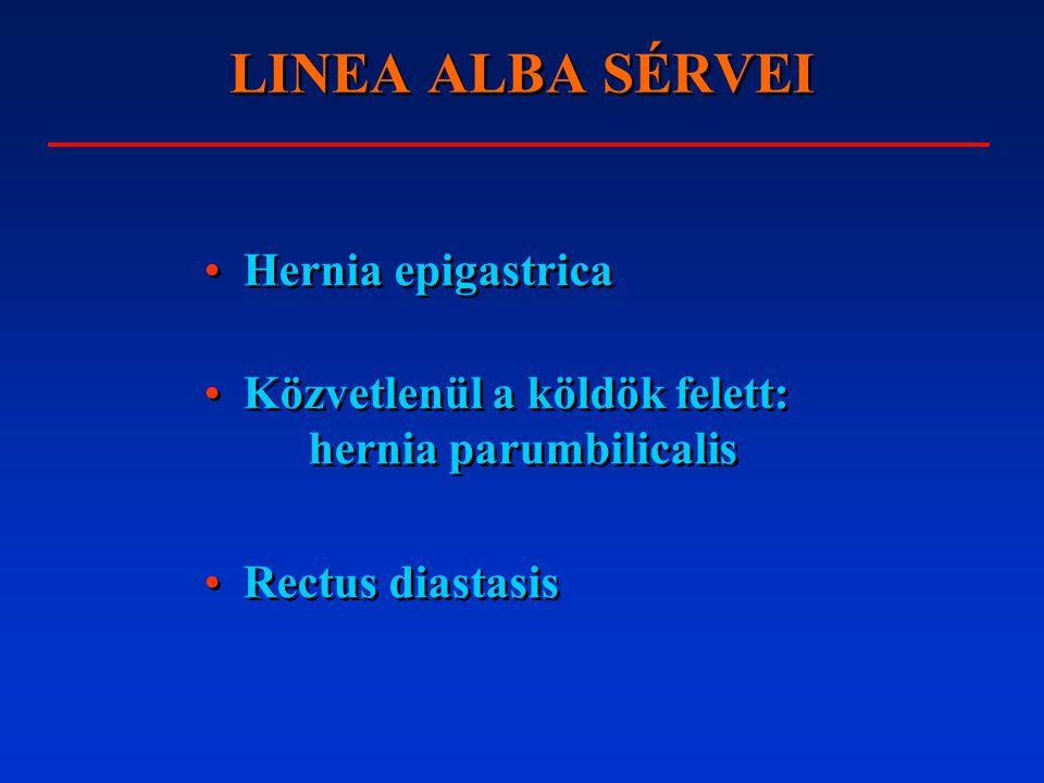 LINEA ALBA SÉRVEI Hernia epigastrica