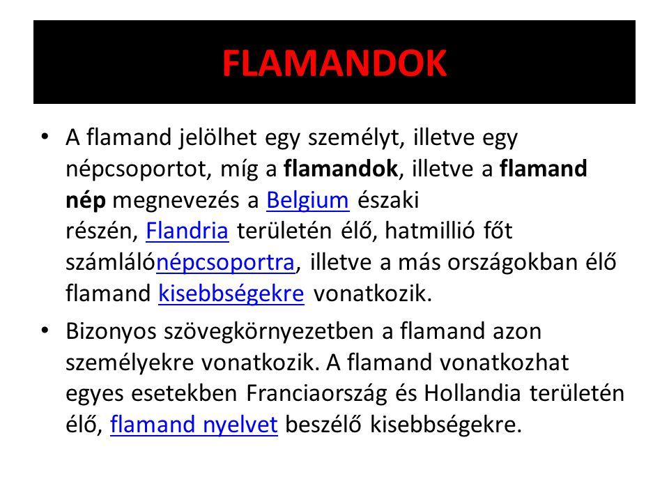FLAMANDOK