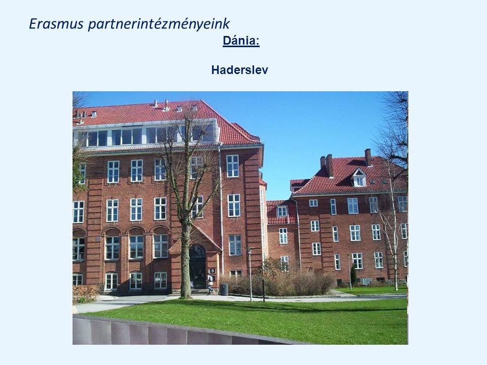 Erasmus partnerintézményeink