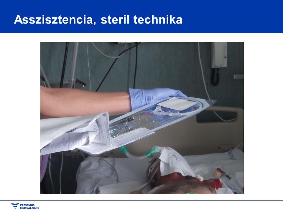 Asszisztencia, steril technika