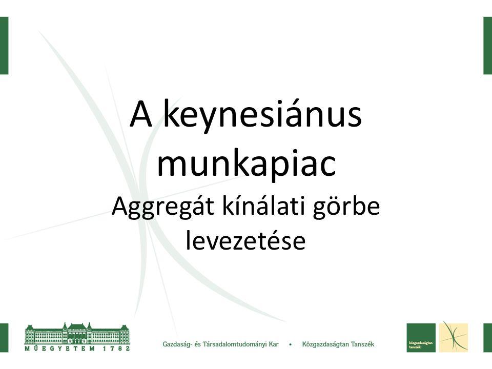 A keynesiánus munkapiac