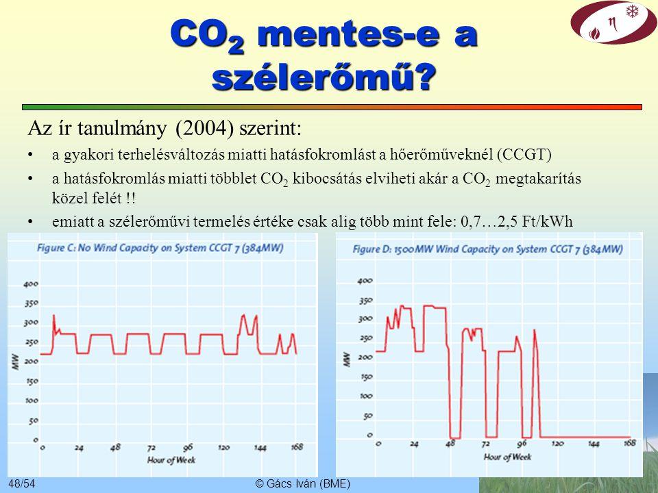 CO2 mentes-e a szélerőmű