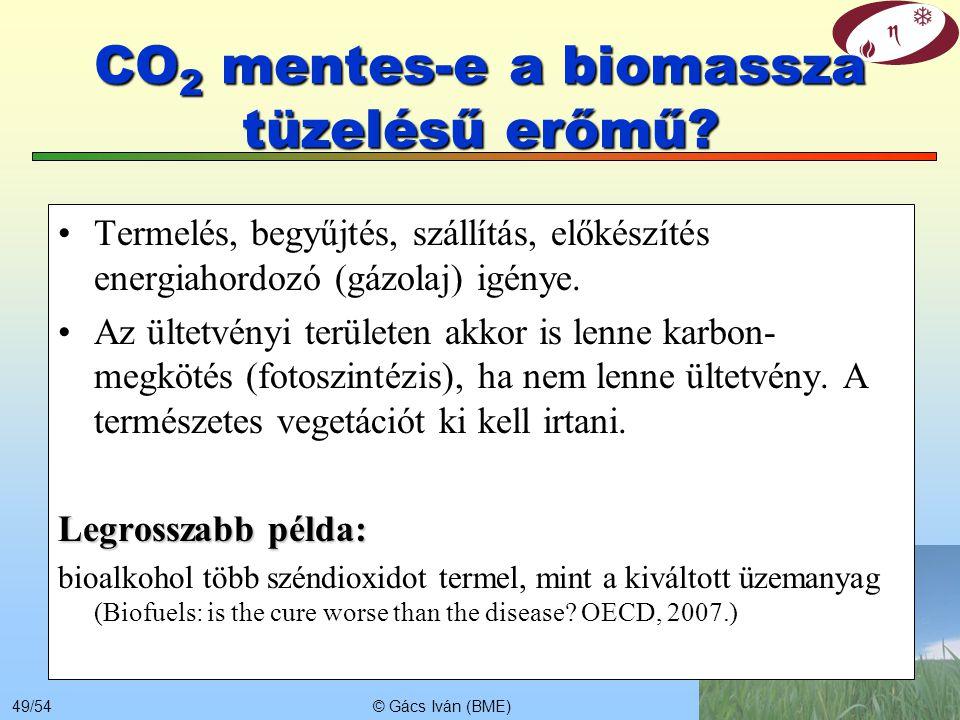 CO2 mentes-e a biomassza tüzelésű erőmű
