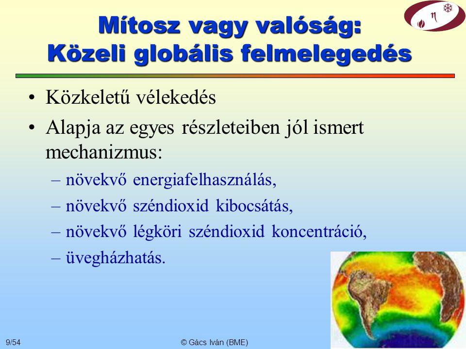 Mítosz vagy valóság: Közeli globális felmelegedés