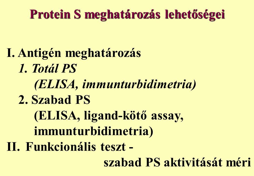 Protein S meghatározás lehetőségei
