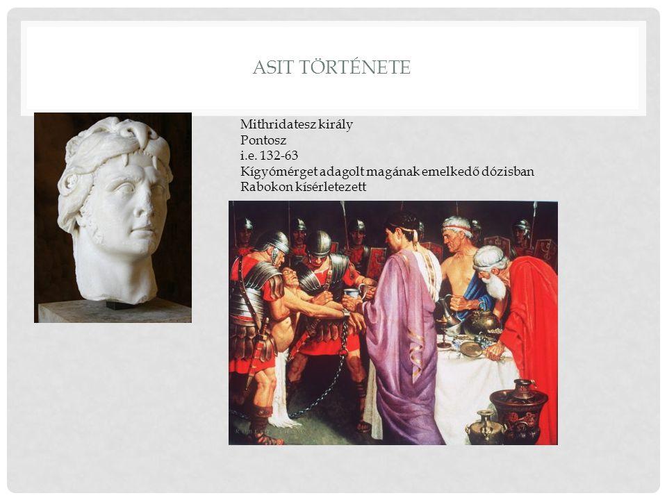 ASIT története Mithridatesz király Pontosz i.e. 132-63