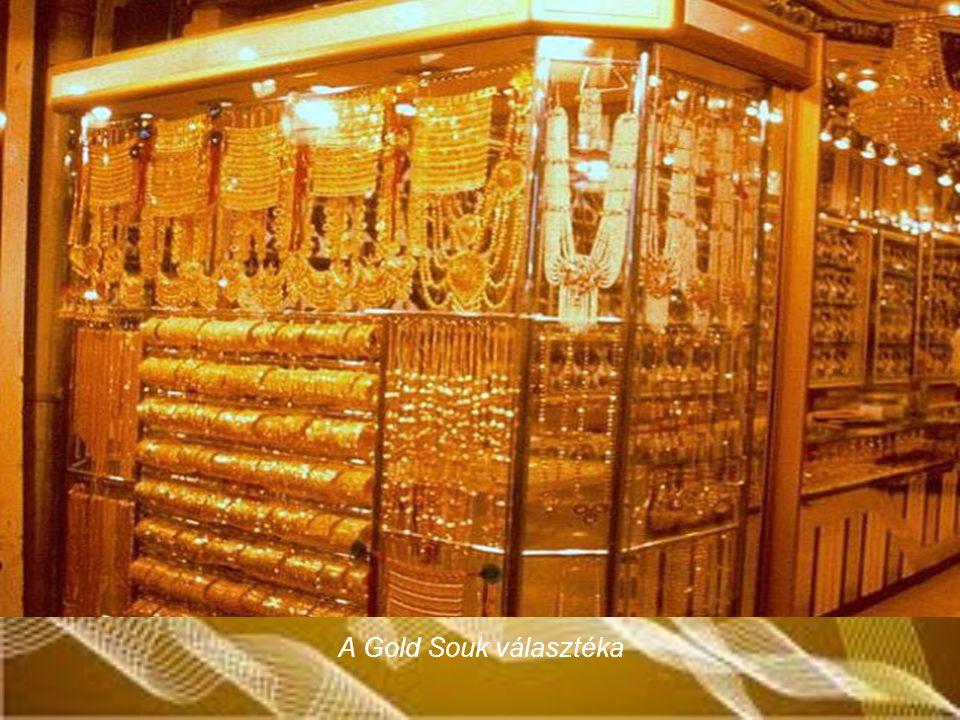 A Gold Souk választéka