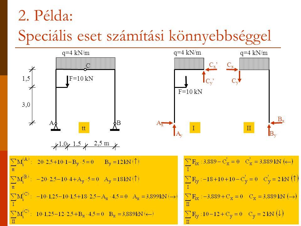 2. Példa: Speciális eset számítási könnyebbséggel