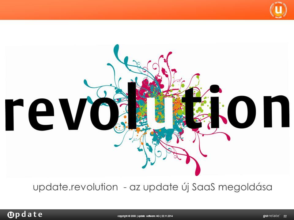 update.revolution - az update új SaaS megoldása