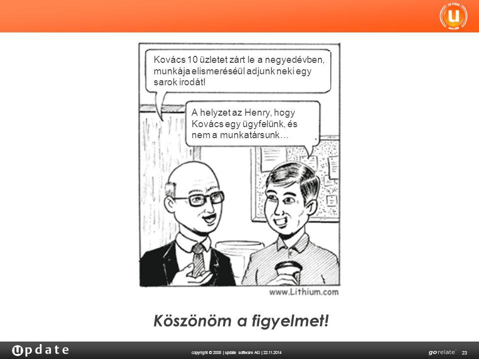Kovács 10 üzletet zárt le a negyedévben, munkája elismeréséül adjunk neki egy sarok irodát!