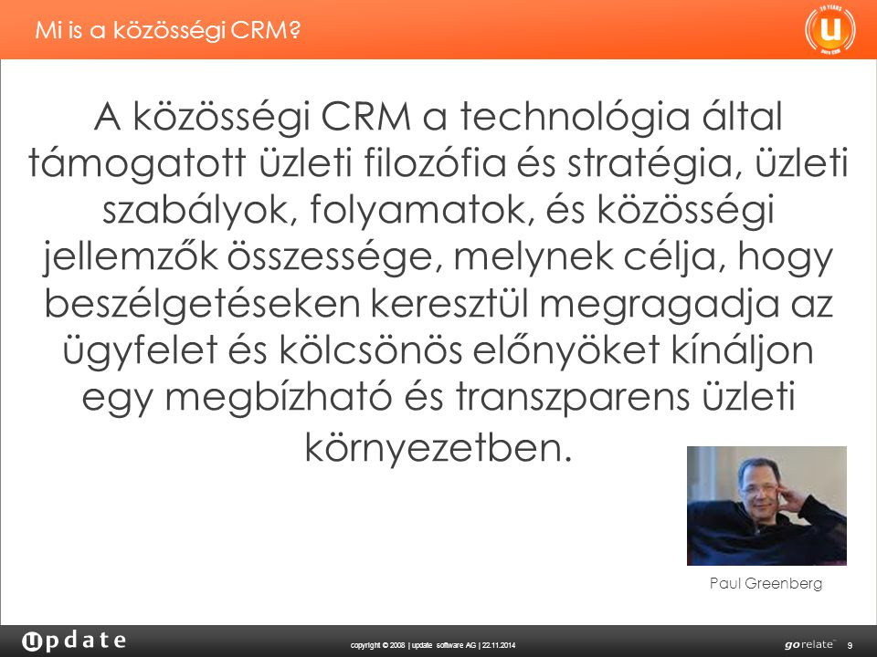 Mi is a közösségi CRM