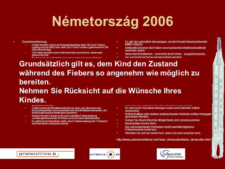 Németország 2006 Zusammenfassung.