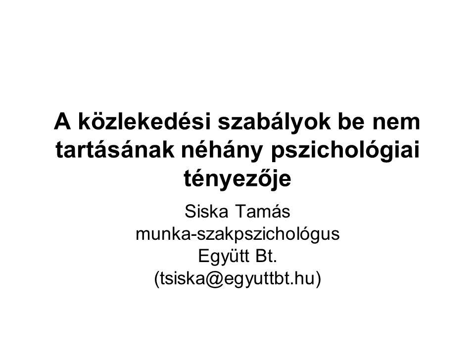 Siska Tamás munka-szakpszichológus Együtt Bt. (tsiska@egyuttbt.hu)