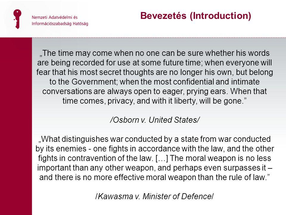 Bevezetés (Introduction)