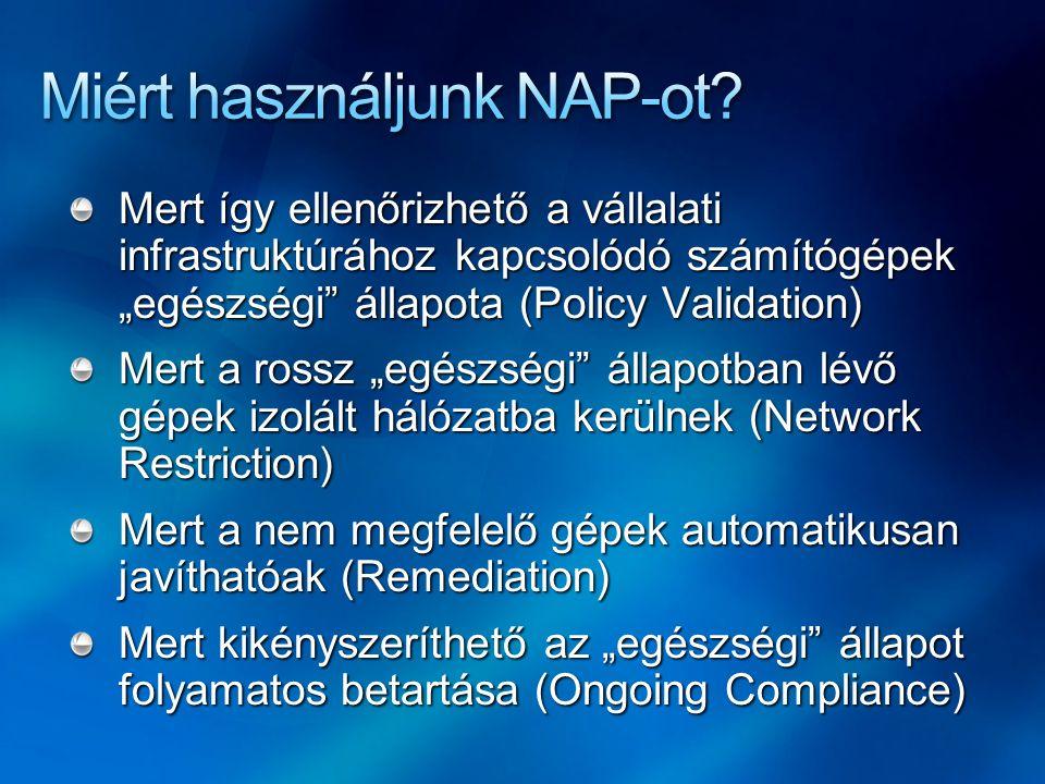 Miért használjunk NAP-ot