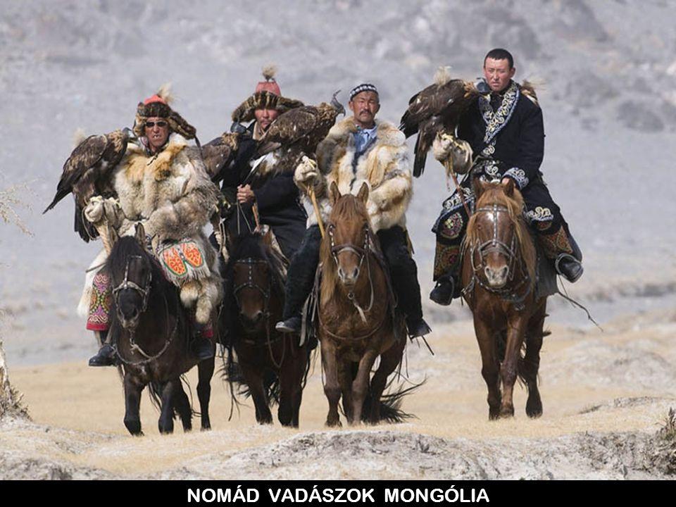 NOMÁD VADÁSZOK MONGÓLIA